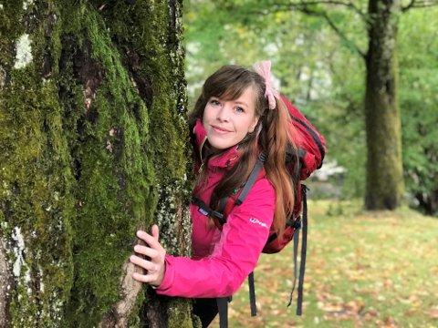 SLET MED ANGST:  Marie Lingelem Karlsen mener at friluftsliv sammen med andre har reddet livet hennes.