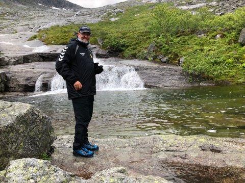 FRILUFTSMANN: Torstein Skretting på opp de 7 søstre.