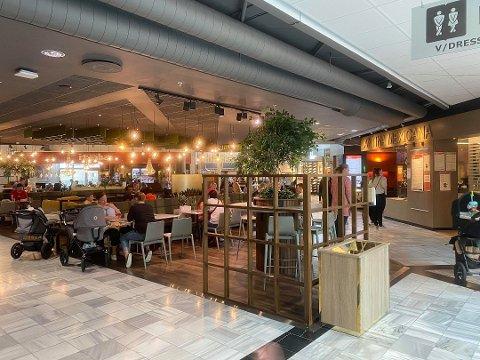 Den nye restauranten Sabrura på Kvadrat var blant aktørene som etablerte seg i september.