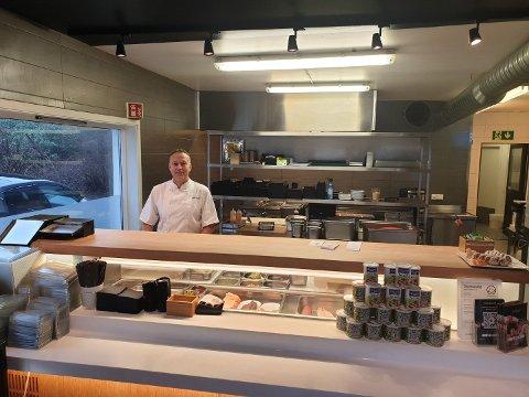 Jan Gunnar Øvestad er daglig leder og styreleder på flere av Sabi Sushi sine restauranter i regionen . Nå gleder han seg til å etablere en ny restaurant i Sandnes.