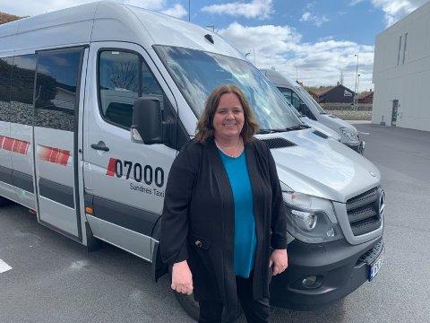 Annelin Rød er ny daglig leder i Sandnes taxi.