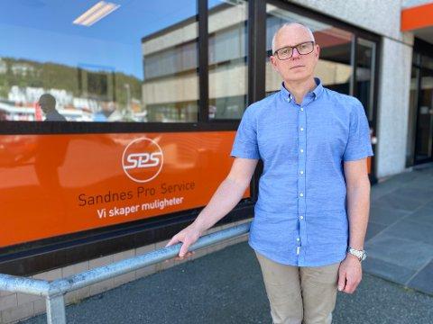 Dagleg leiar i Sandnes Pro-Service, Jan Erik Jacobsen.