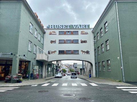 Huset Vårt - et av regionens eldste kjøpesenter.