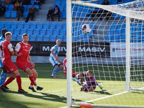 Denne scoringen fra Ståle Sæthre kan ha reddet Sandnes Ulf fra nedrykk.