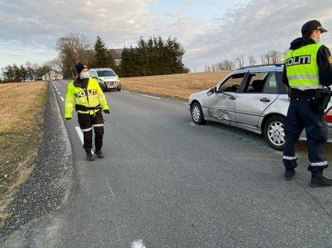 Politiet undersøker og rydder opp på Malmheim.