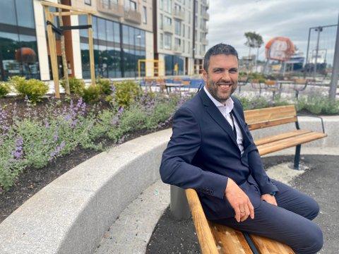 Eirik Nebdal Haver er ny banksjef i Sandnes.