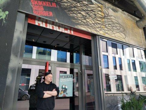 Ole Dysjaland er daglig leder i Hekkan Burger.