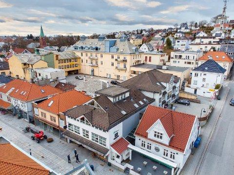 FOR SALG: Interessen for Centrumsgaarden er stor. Prislappen er 15,75 millioner kroner.