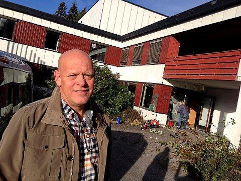 LØNNSOMT ÅR: Tom Gunnar Børresen, eier av VAM AS, tjente millionbeløp på flyktningkrisen i fjor.