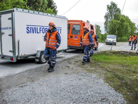 En rapport viser at sivilforsvaret i Norge og Østfold sliter med gammelt og dårlig utstyr. Hvis en i årene framover skal klare å gjøre jobben som en er satt til, trengs det nytt materiell og styrket innsatsbudsjett. (Foto: Østfold sivilforsvarsdistrikt)