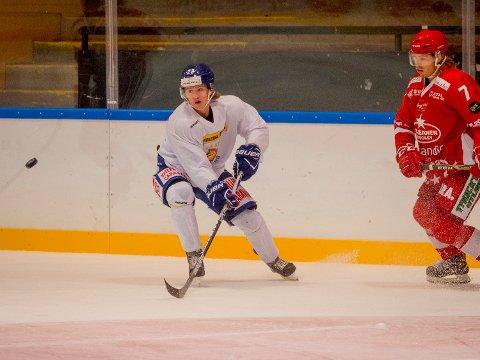 Finaleklar: Sander Thoresen og Sparta U20 er klare for finalen i U20 NM.  FOTO: Thomas Andersen