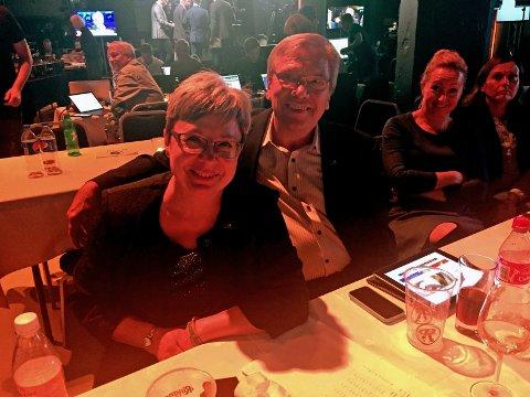 SLITEN, MEN FORNØYD: Monica Gåsvatn er sliten, men fornøyd etter valget.