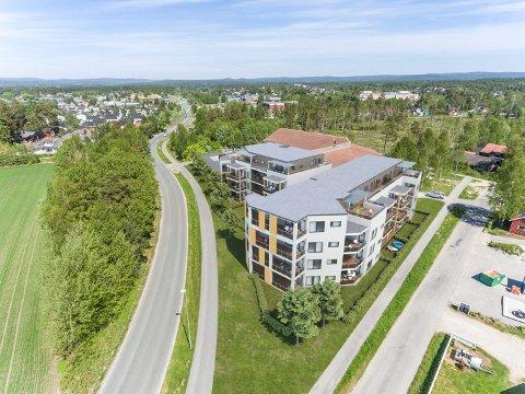 NYE BYGGEPLANER: Slik blir de nye leilighetene i byggetrinn to ved det gamle Fram-bygget. Leilighetene fordeler seg på to bygg.