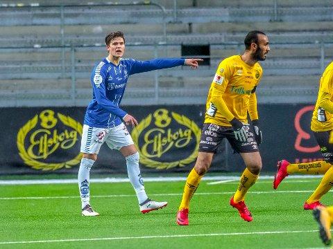 På U 21 landslaget: Bjørn Inge Utvik er også med i troppen til U 21 landskampene. Foto: Tobias Nordli.