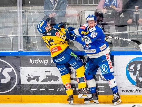 Dykan Zink sikret seg tre poeng mot Stothamar. Foto: Thomas Andersen