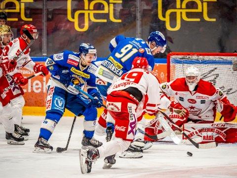 Landslagskamper:  Tommy Kristiansen og Niklas Roest er klare for landskampene som blir vist på SA-TV Foto: Thomas Andersen