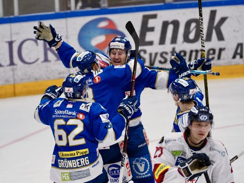 Jubel etter Didrik Nøkleby Svendsens 4-3-mål. (Foto: Thomas Andersen)