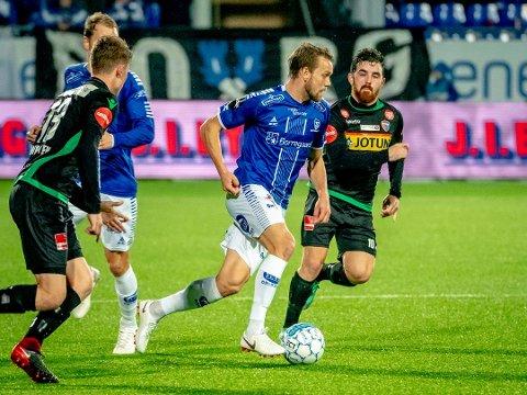 Ole Jørgen Halvorsen og Sarpsborg 08 får ikke hjemmekamp under fotballens festdag 16. mai.
