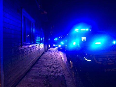 Alle nødetatene rykket ut til Olav Haraldssons gate julaften, etter melding om bygningsbrann.