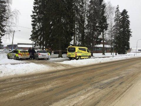 d19c3d11 FANT DØD KVINNE: En død person ble funnet i et søppelskur ved Korsgård  skole i