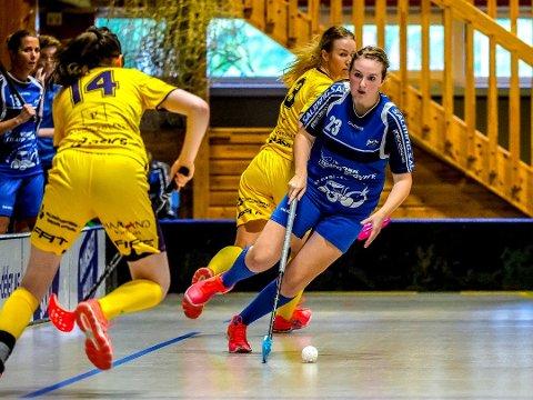 MATCHVINNER: Nora Benedikte Norheim ble matchvinner ti sekunder før slutt.