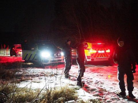 Sent søndag kveld ble jenta funnet av politipatrulje i god behold i et uthus halvannen kilometer fra hjemmet hennes.