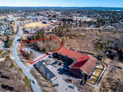NYE BOLIGER: I området mellom Fram-bygget og Borgen barneskole planlegges det nye boliger.