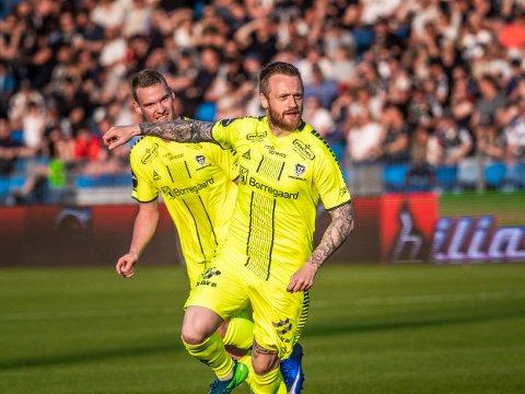 Scorer mye: Tidligere Sarpsborg 08s spiller Ronnie Schwartz Nielsen (29) scorer mye for sin nye klubb Silkeborg i Danmark.