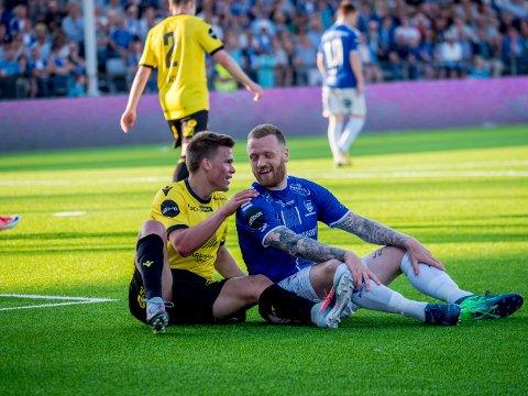 Tatt vare på: Ronnie Schwartz Nielsen scoret jevnt og trutt under tiden i Sarpsborg 08, en spiller som hadde vært gull verdt i dag.