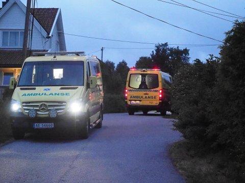 Nødetatene rykket mandag kveld ut etter melding om en knivstikking på Nordberg. En kvinne ble funnet på adressen.