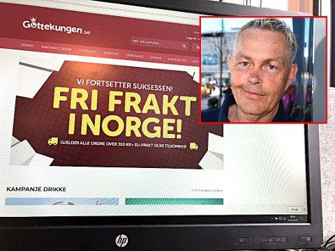 Omstridt godissuksess: Lars Laabak er storfornøyd med oppstarten av Gottekungen.se. Samtidig er flere kunder kritiske til selskapet. Foto: Sigurd Øfsti
