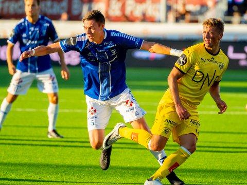 Fra start: Jørgen Strand Larsen kom inn mot Lillestrøm, mot Brann i Bergen starter han.