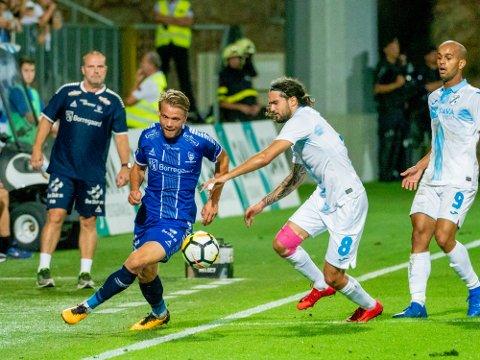 Spiller ikke: Ole Jørgen Halvorsen spiller ikke kampen på torsdag mot Maccabi Tel Aviv på grunn av kort.
