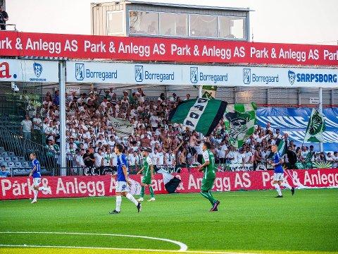 Sarpsborg 08 fyller avdelingen helt til høyre med seter og utvider kapasitetet på stadion med 484 plasser.