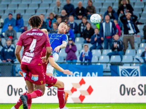 Til DanmarK: Ronnie Schwartz er i Danmark og hos klubben Silkeborg, hvor han gjennomgår den medisinske testen.