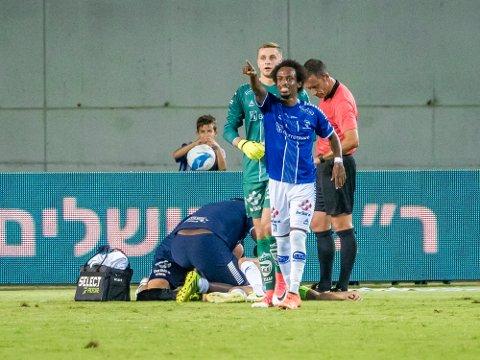 GULE KORT: Amin Askar har pådratt seg to gule kort i Europa League-kvalifiseringen, men begge strykes før gruppespillet.