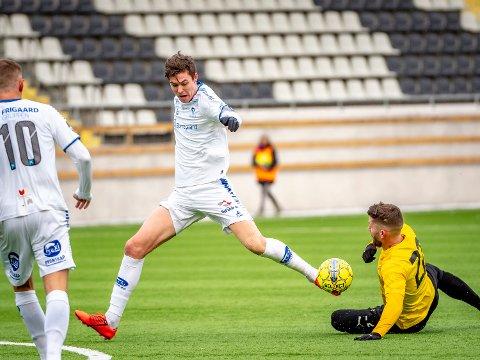 EM-kvalifisering:  Jørgen Strand Larsen er tatt ut til EM-kvalifiseringskampene for G19-landslaget.
