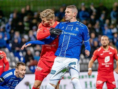 STARTER: Kyle Lafferty spiller fra start mot Mjøndalen.