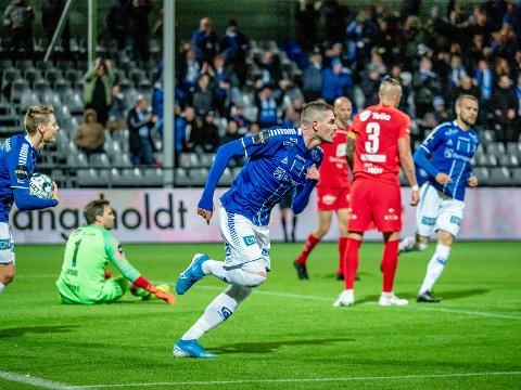 Mer jubel: Kyle Lafferty spiller mot Kristiansund og håper på mer jubel fra hans side.