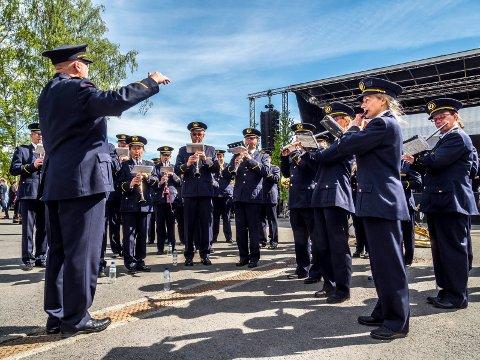 TIL NM: Sarpsborg janitsjarkorps har kvalifisert seg til NM-deltakelse i 1. divisjon etter et års opphold.