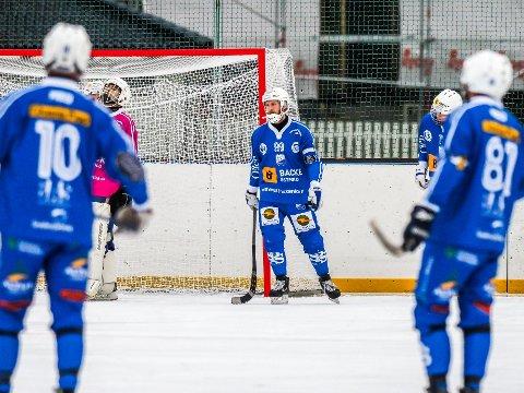 Tøff start: Sarpsborg Bandyklubb fikk en tøff start i Bærum og måtte reise hjem med stort tap i serieåpningen.