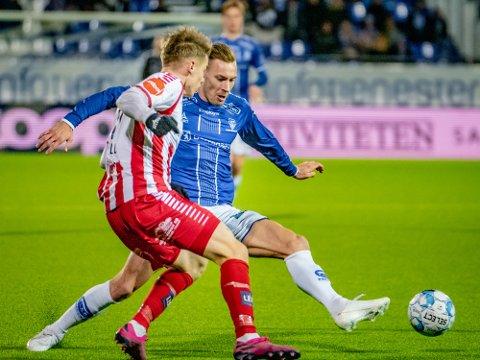 Spesiell dag: Magnar Ødegaard var med og sikret tre viktige mot Tromsø.