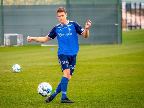 FRISKMELDT: Sarpsborg 08s  Kristoffer Zachariassen spiller mot Lillestrøm.