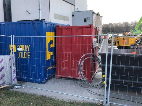 ØNSKER TIPS: Politiet i Sarpsborg ønsker tips og eventuelle vitneobservasjoner etter helgens verktøytyveri fra kornsilo-byggeplassen i Alvimveien.
