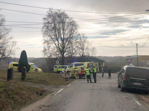En 76 år gammel MC-fører ble alvorlig kvestet etter en kollisjon i krysset Storedalveien/Oldtidsveien i Skjeberg i mars i fjor. Nå er den kvinnelige bilisten som forårsaket ulykken dømt til betinget fengsel.
