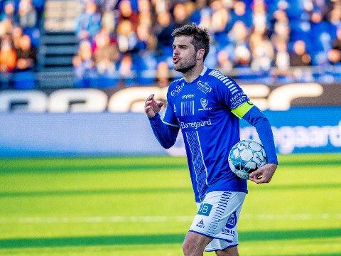 Viktig match:Sarpsborg 08s kaptein Joachim Thomassen skal være med å fikse nye poeng på stadion mot Mjøndalen på lørdag.