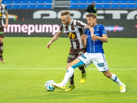 Ikke med: Ole Jørgen Halvorsen blir ikke å finne på banen mot Viking på søndag.