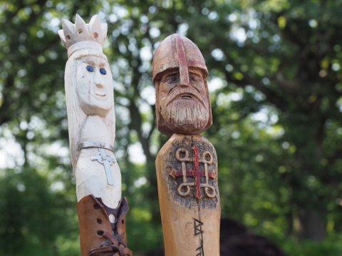 HISTORIE: Olavsdagene i år har fokus på temaet allianser, med utgangspunkt i Olav Haraldsson og Astrid Olofsdatters bryllup som sto i Borg i 1019.