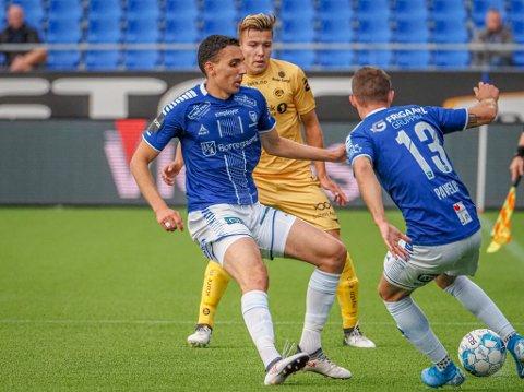 Tilbake: Mustafa «Mos» Abdellaoue er tilbake på Sarpsborg 08 laget mot Tromsø