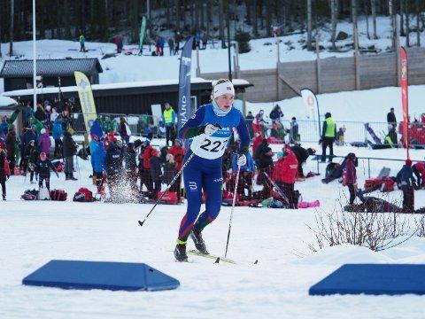 God start: Elise Fredheim Simonsen fikk en flott tredjeplass.